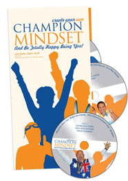 Create Your Own Champion Mindset 7CD set, 90 page Ultimate step-by-step manual PLUS 8th Bonus Resource CD