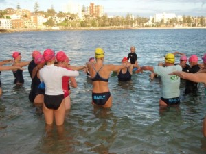Shelley Taylor-Smith coaching Pool-2-OWS Clinic