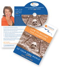 How to Become the Champion of your own world CD & Workbook - $49.95