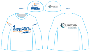 Open Water Swimming Mastery T Shirts and swim caps
