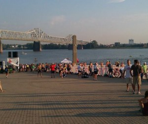 Brave Swim, Ohio River Event, Brave Cold Swim, Supporting The Ohio River, open water swimming