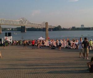 Brave Swim, Ohio River Event, Brave Cold Swim, Supporting The Ohio River, open water swimming